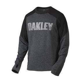 Oakley Performance FLC Crewneck Men Jet Black Dark Heather